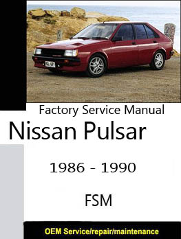 1989 nissan sentra repair manual pdf