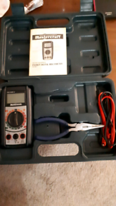 mastercraft digital clamp meter manual