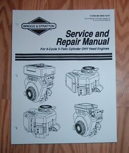 briggs and stratton service manuals online