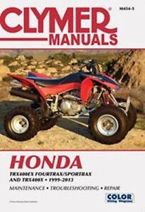 1999 honda fourtrax 300 service manual