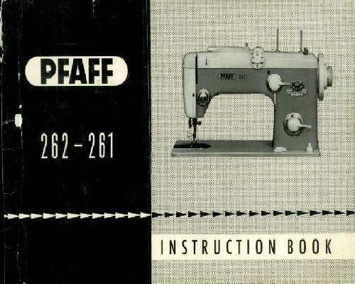 pfaff varimatic 6085 service manual