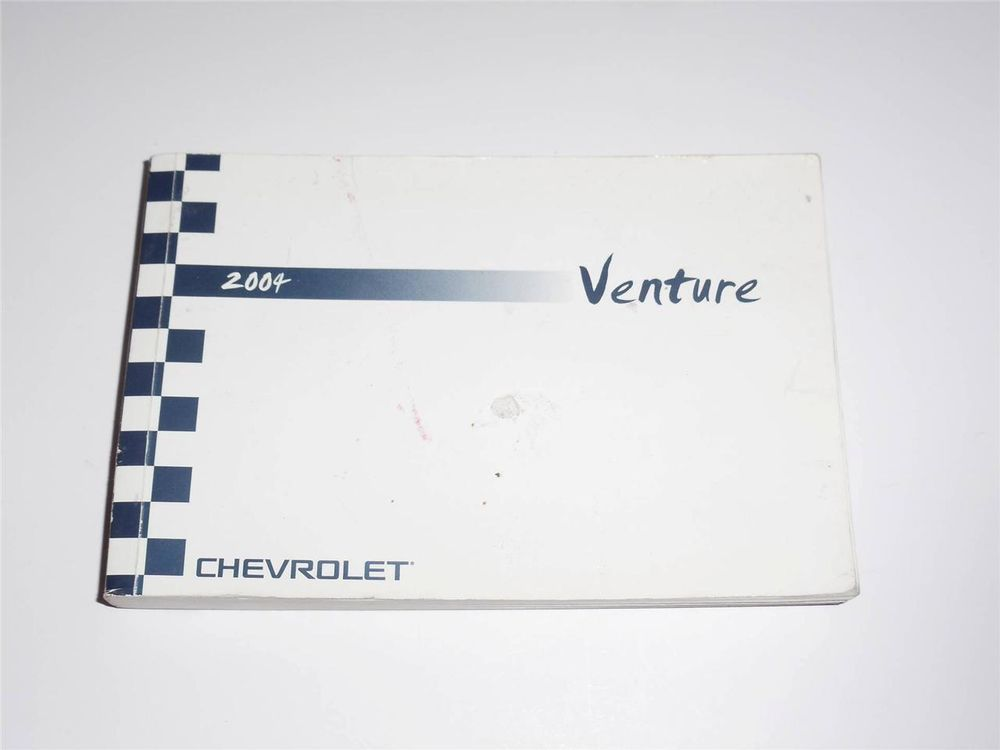 2004 chevy venture owners manual