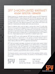 spy holiday detector 780 manual