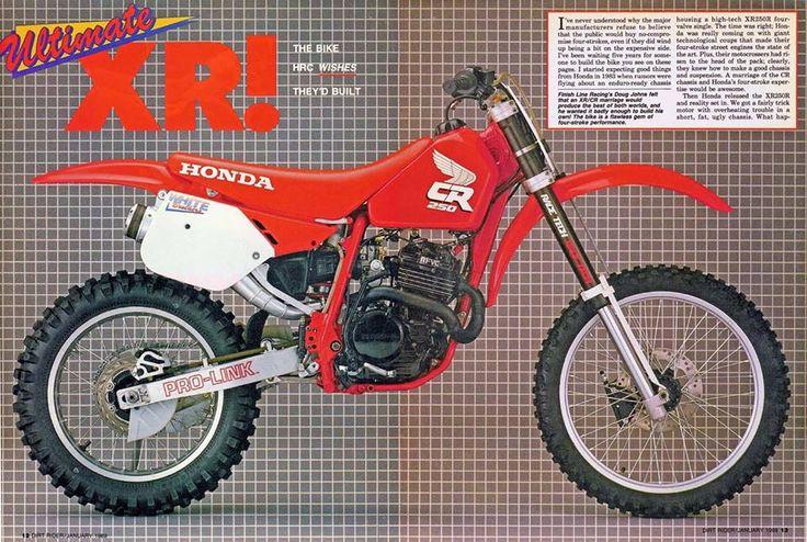 1984 honda xr250r service manual