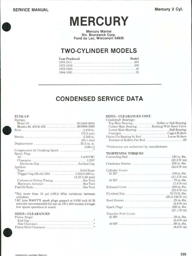 2003 mercury 90 hp outboard manual