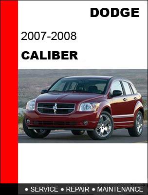 2007 dodge caliber repair manual