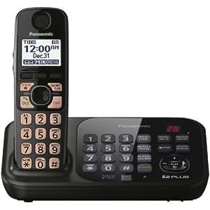 panasonic dect 6.0 cordless phone answering machine manual