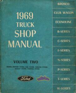 1969 ford f100 repair manual