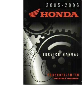 1993 honda fourtrax 300 service manual