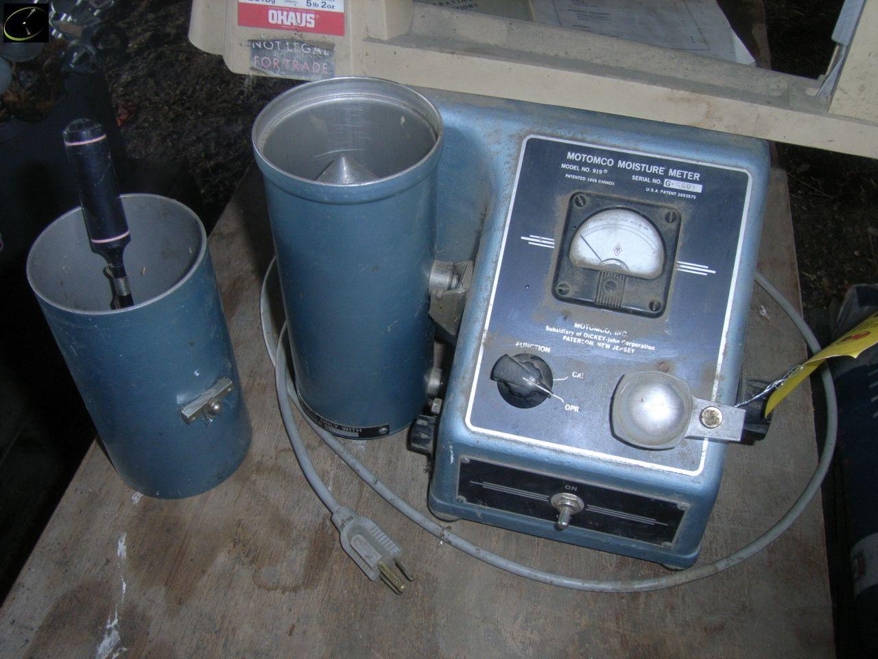 motomco moisture meter 919 manual