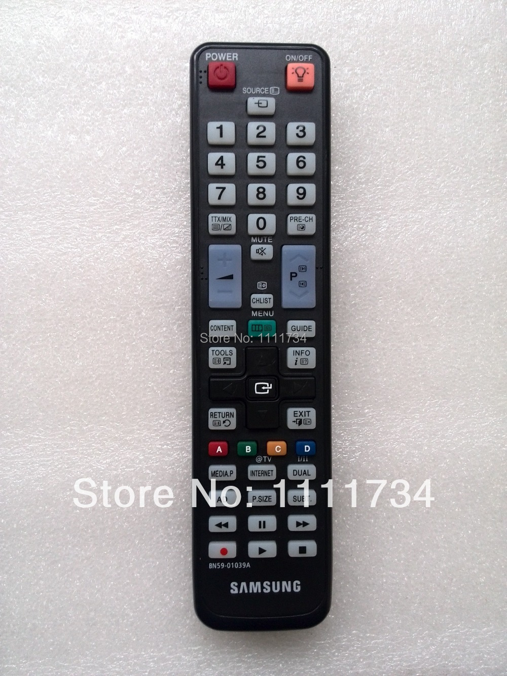 samsung tv remote control bn59 manual