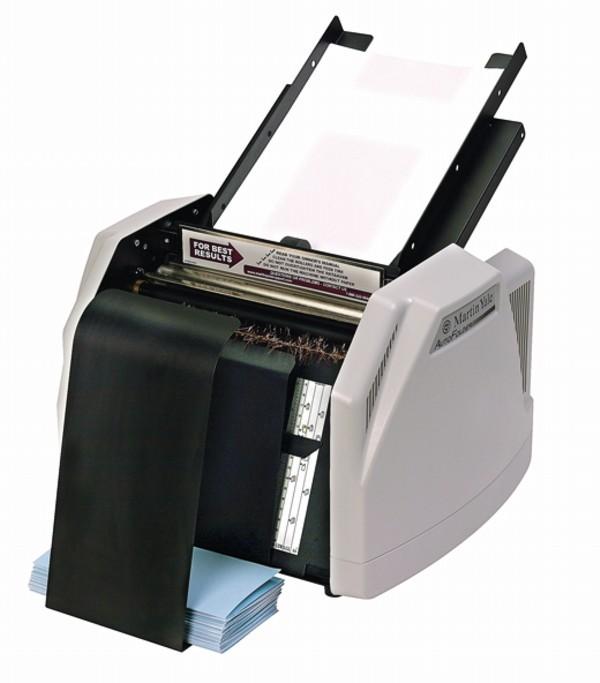 martin yale auto folder 1501 manual