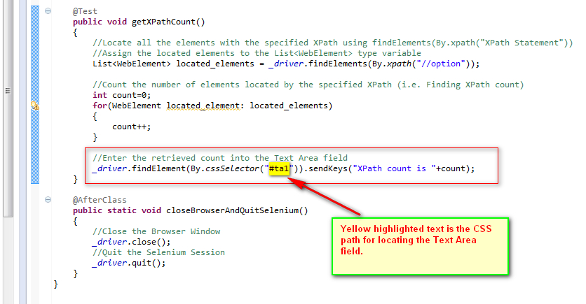 how to write xpath manually in selenium webdriver