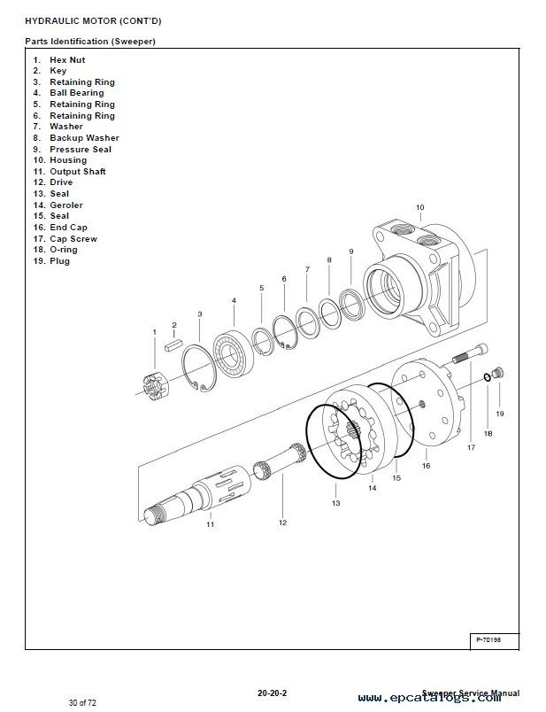 bobcat sweeper 60 parts manual