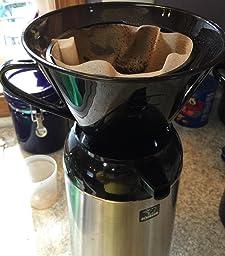 rsvp manual drip coffee filter cone