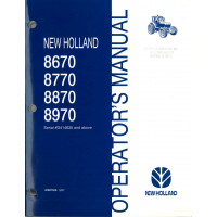 new holland 8670 service manual