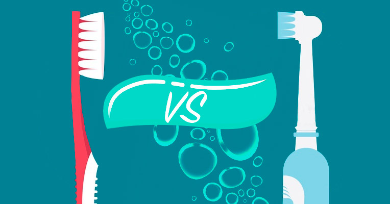 which is better electric toothbrush or manual