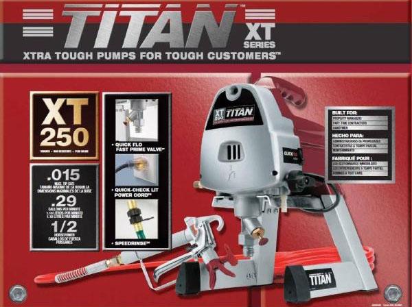 titan xt250 paint sprayer manual