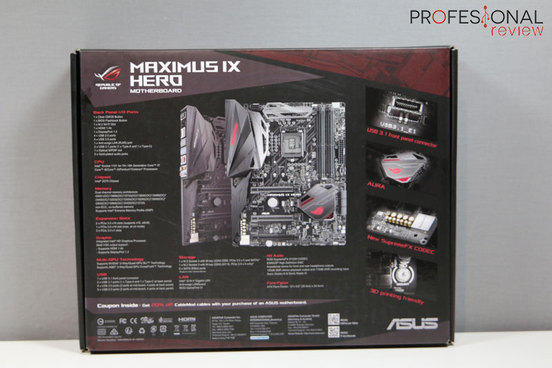 asus maximus ix code manual