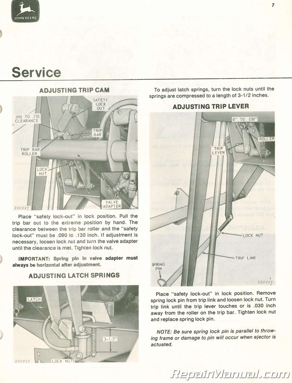 john deere 1890 operators manual