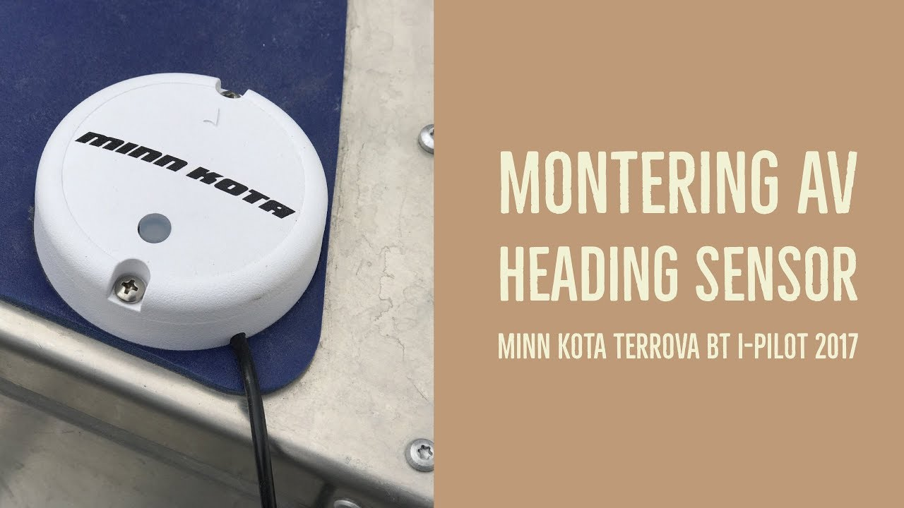 minn kota heading sensor manual