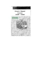 honda em500 generator repair manual