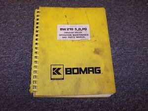 bomag bpr 55 65d manual