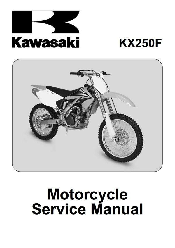 2009 kx250f service manual free download