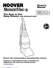 hoover steamvac dual v manual