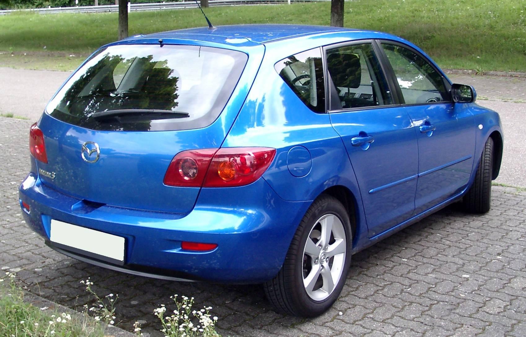 2004 mazda 3 hatchback manual
