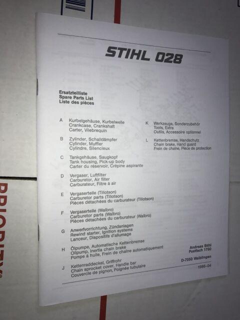 stihl 041 av super manual