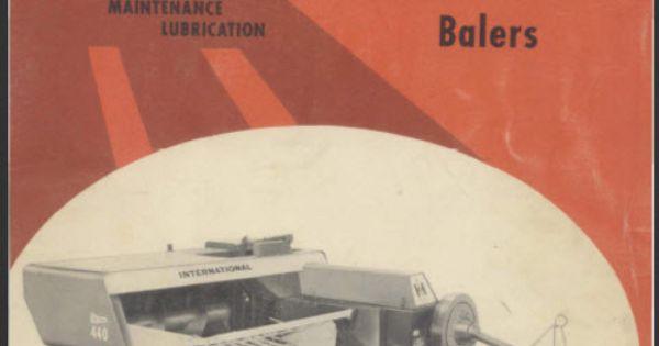 international 440 baler free manual
