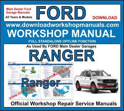 ford ranger service manual download