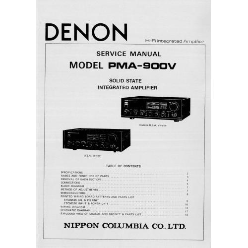 denon pma 680r service manual