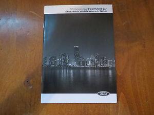 2013 ford c max energi owners manual