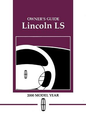 2000 lincoln ls owners manual