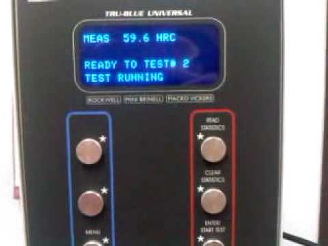 wilson rockwell hardness tester manual