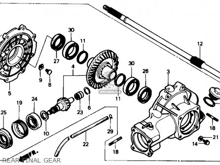 2004 honda foreman 450 service manual