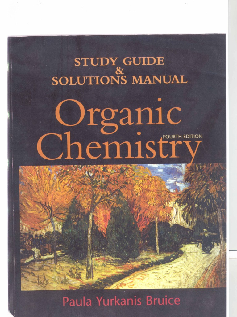 bruice organic chemistry 8th edition solutions manual