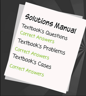 what is solution manual for textbooks