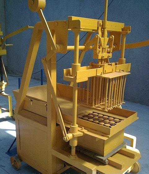 manual block making machine for sale