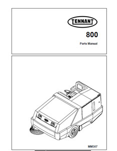tennant 800 sweeper service manual