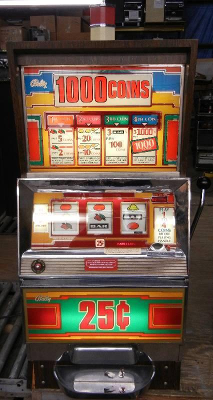 bally slot machine repair manual