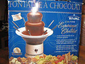 rival chocolate fountain instruction manual