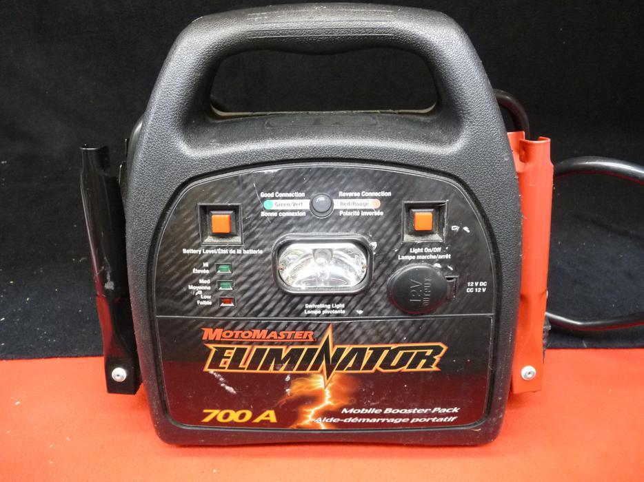 motomaster eliminator mobile booster pack 700a manual