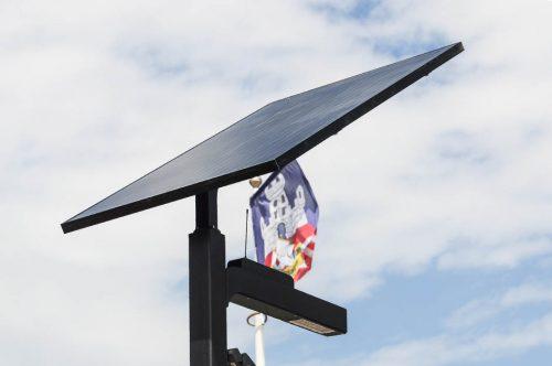 solar street light installation manual