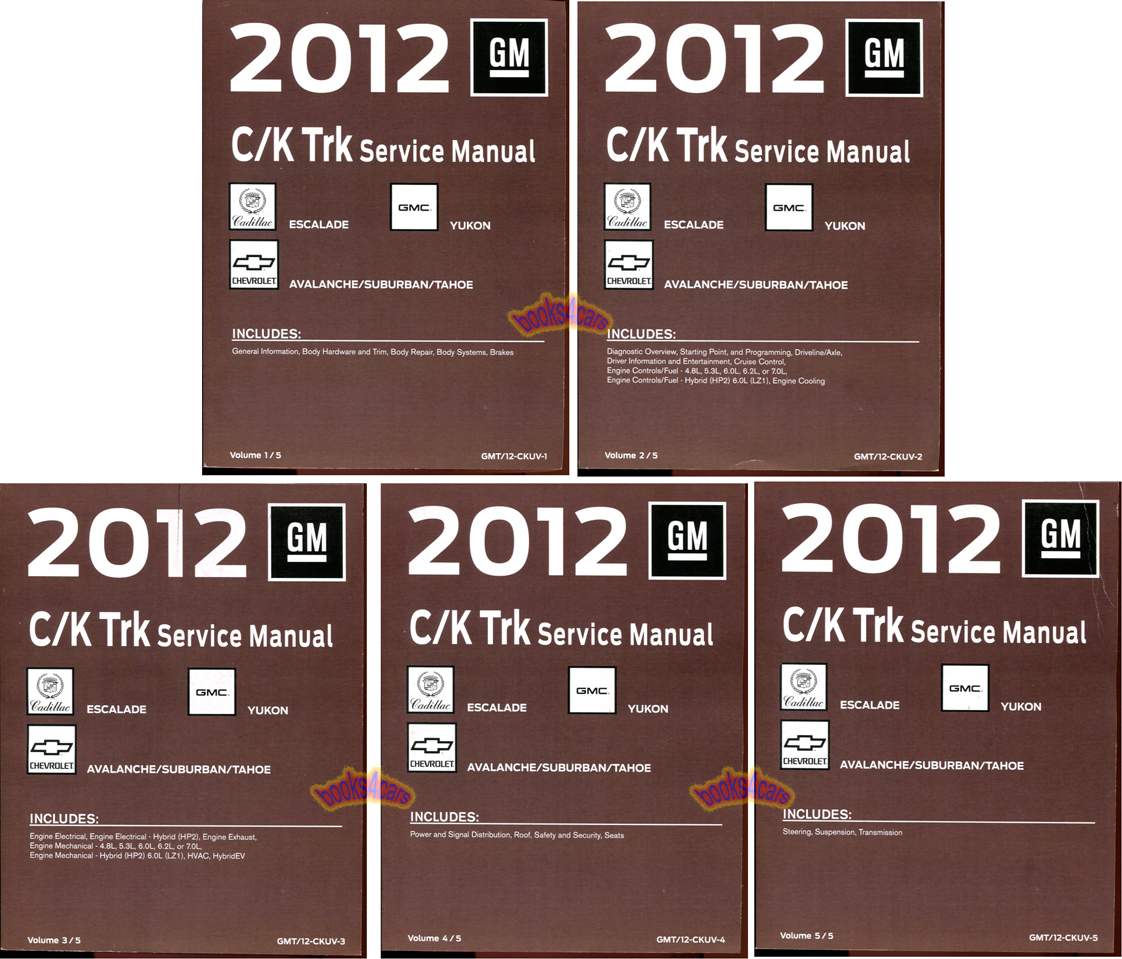 2012 chevy silverado owners manual