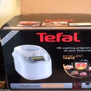 tefal electric pressure cooker manual