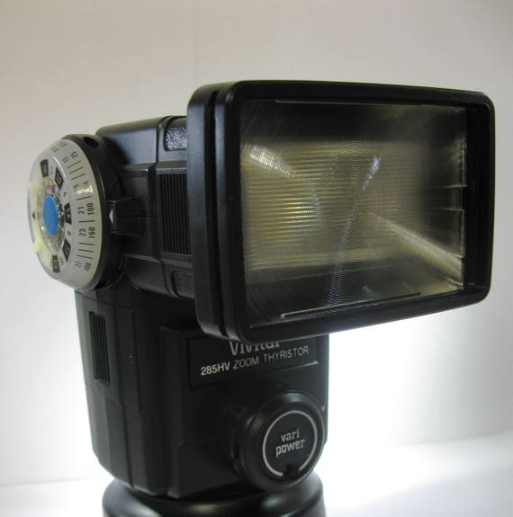 vivitar 285hv zoom thyristor flash manual