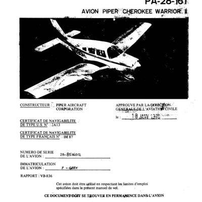 piper pa 32 parts manual